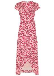 FABIENNE CHAPOT Archana Wrap Dress - Lazy Leopard Frutti Red