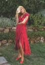 FABIENNE CHAPOT Archana Wrap Dress - Pink Parrot