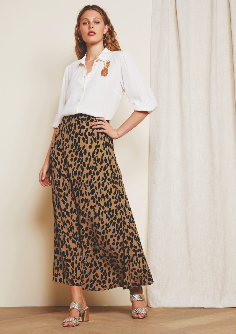 FABIENNE CHAPOT Sina Skirt - Lazy Leopard main image