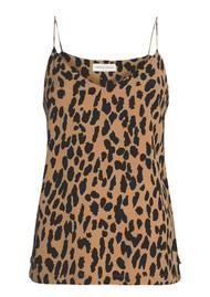 FABIENNE CHAPOT Lora Strap Top - Lazy Leopard