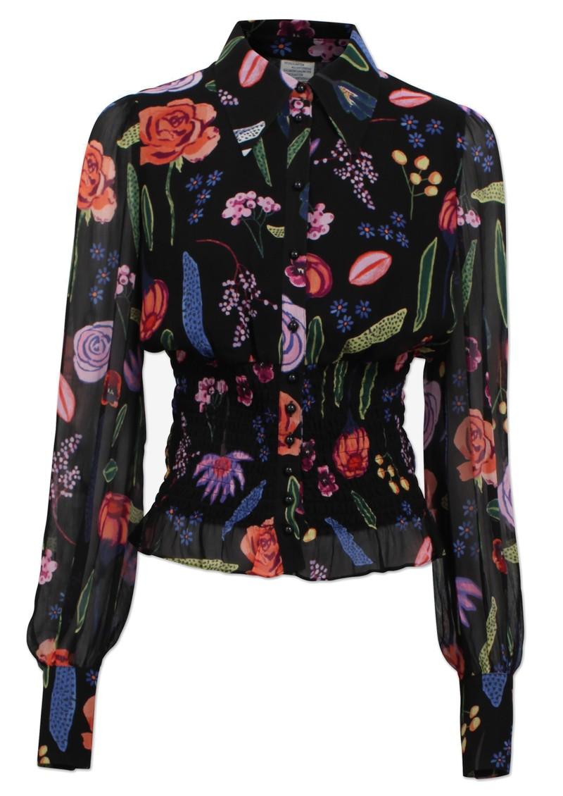 BAUM UND PFERDGARTEN Makayla Blouse - Black Hampton Garden main image