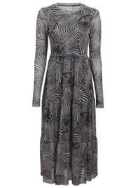 BAUM UND PFERDGARTEN Jocelina Dress - Black Tiger Shell
