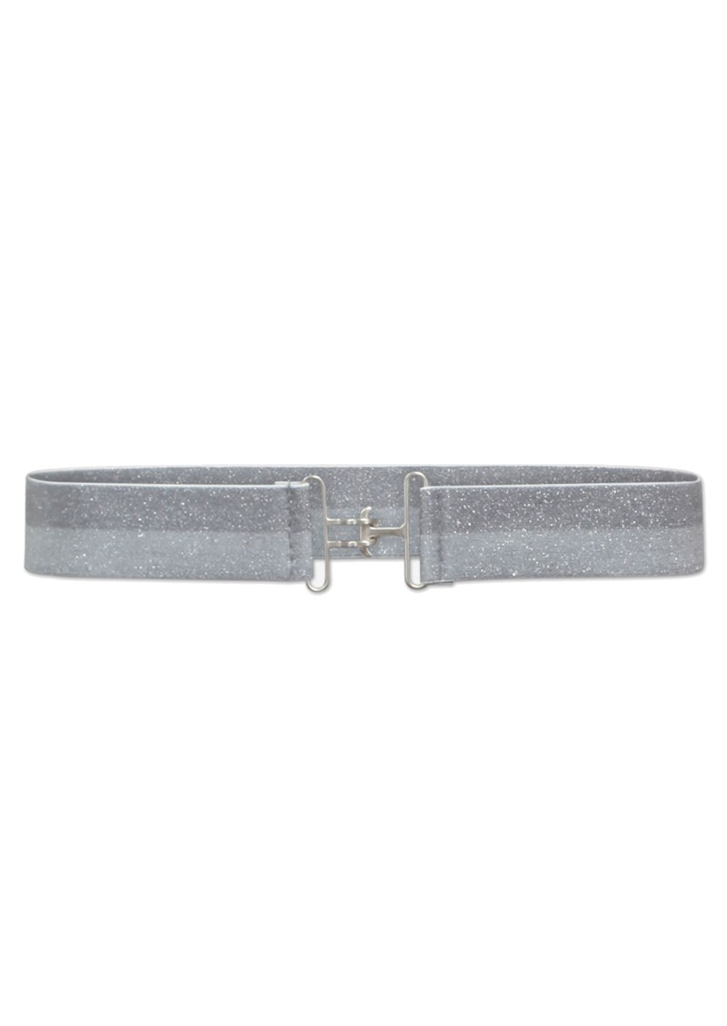 BAUM UND PFERDGARTEN Lavender Lurex Elasticated Belt - Icy Blue main image