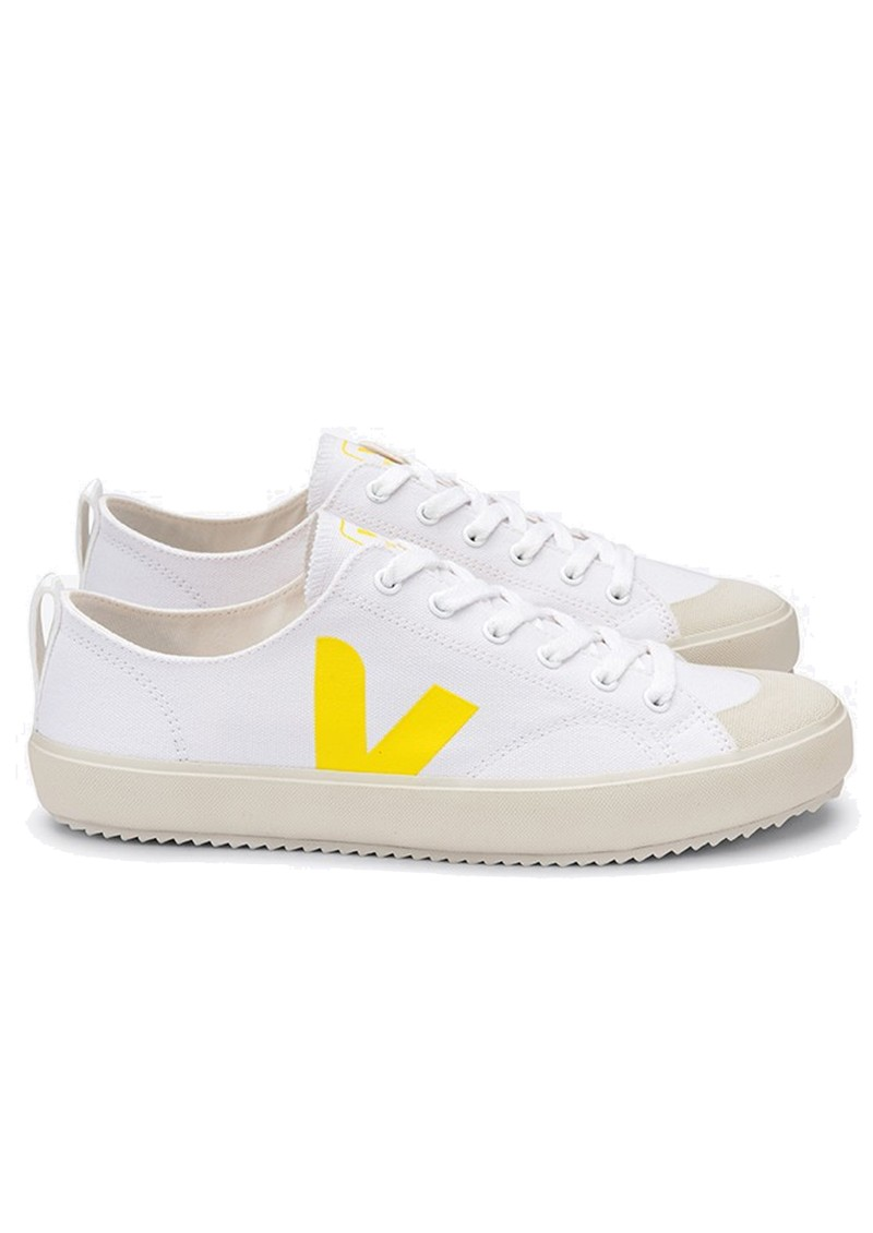 VEJA Nova Canvas Trainers - White & Tonic main image