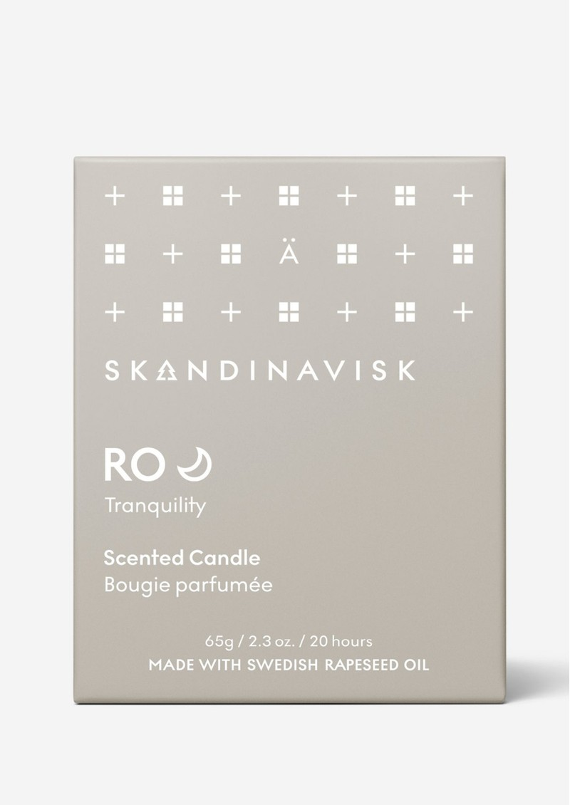SKANDINAVISK Mini 65g Scented Candle - Ro main image