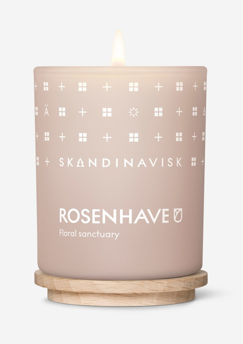 Mini 65g Scented Candle - Rosenhave main image