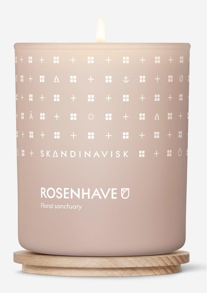 SKANDINAVISK 200g Scented Candle - Rosenhave main image