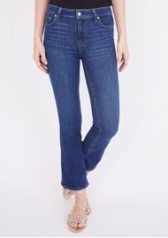 Paige Denim Colette Crop Flare Jeans - Mai Tai
