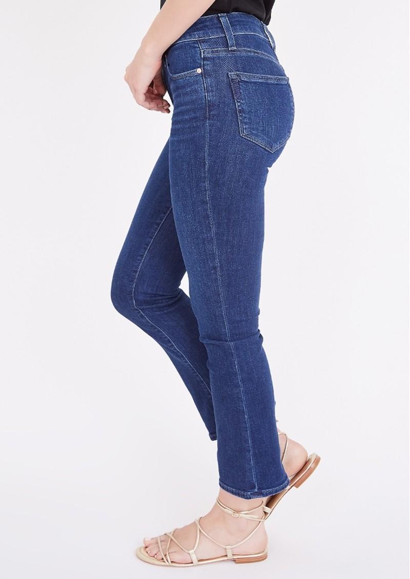 Paige Denim Colette Crop Flare Jeans - Mai Tai main image