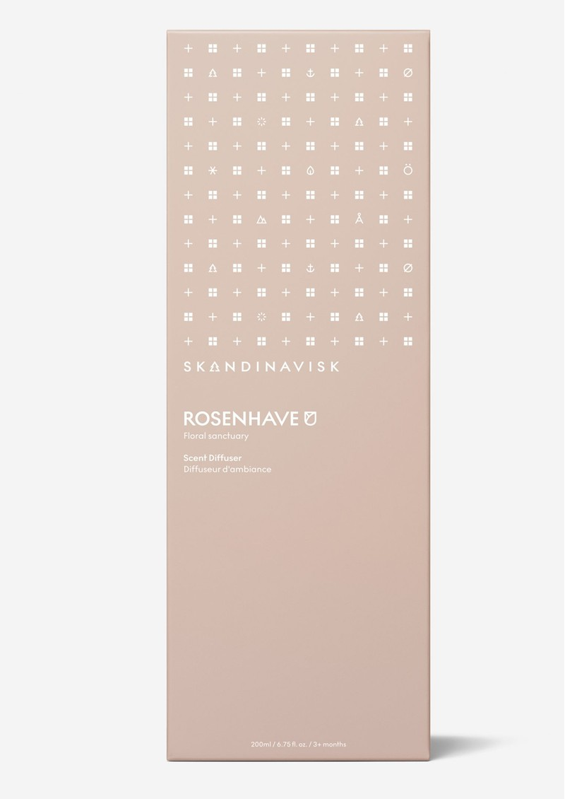 SKANDINAVISK Scented Diffuser 200ml - Rosenhave main image