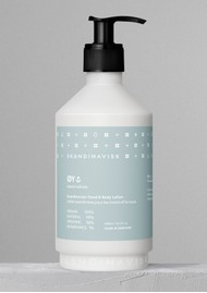 SKANDINAVISK 450ml Hand & Body Lotion - Oy