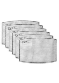 BREATHE Adult Face Mask Replacement Filters - Pack of 6