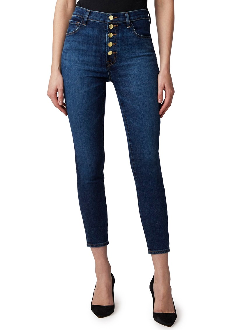 J Brand Lillie High Rise Photo Ready Crop Skinny Jeans - Arcade main image