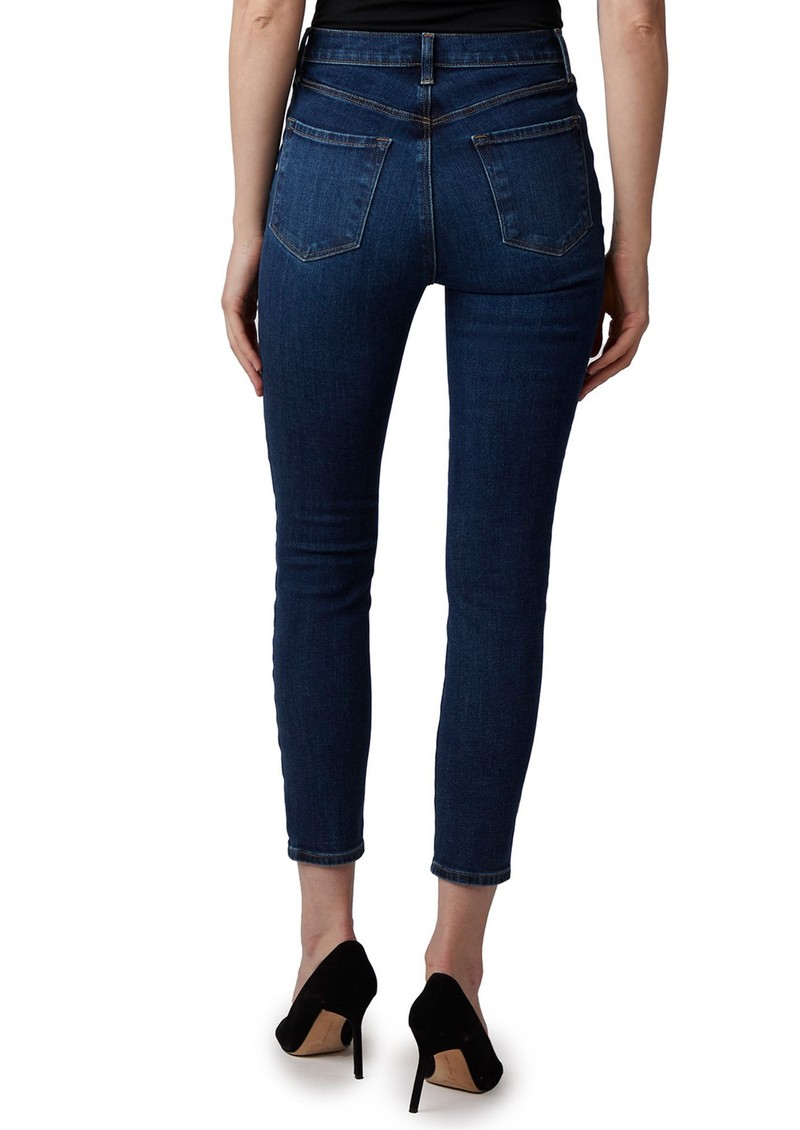 J Brand Lillie High Rise Photo Ready Crop Skinny Jeans - Arcade main image