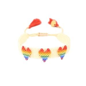 Love Beaded Bracelet - Multi