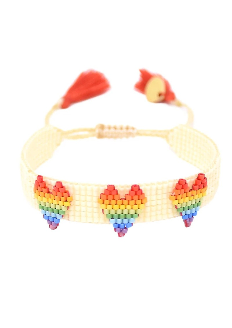 MISHKY Love Beaded Bracelet - Multi main image