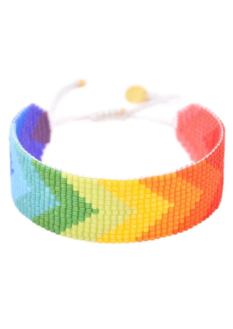 MISHKY Rainbow Forward Beaded Bracelet - Multi main image
