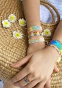 MISHKY Rainbow Forward Beaded Bracelet - Multi