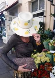 POOK HATS Classic Lemon Hat - Natural