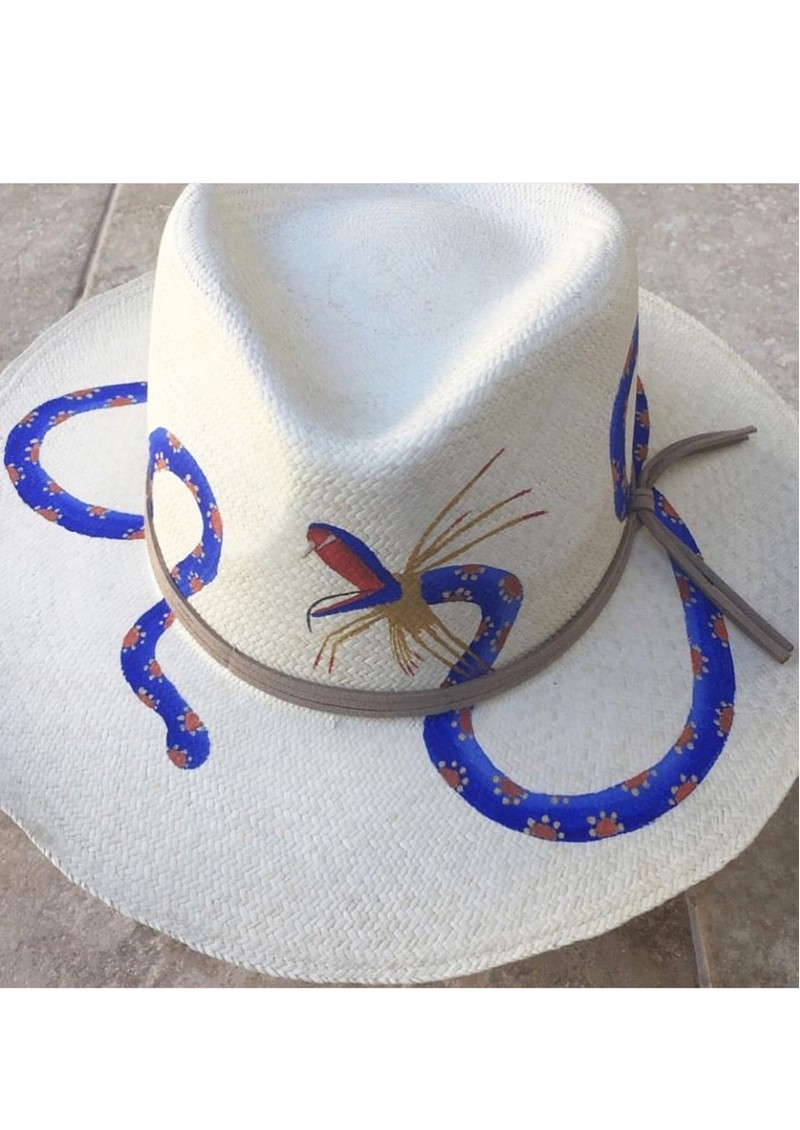 POOK HATS Alebrije Snake Hat - Natural main image