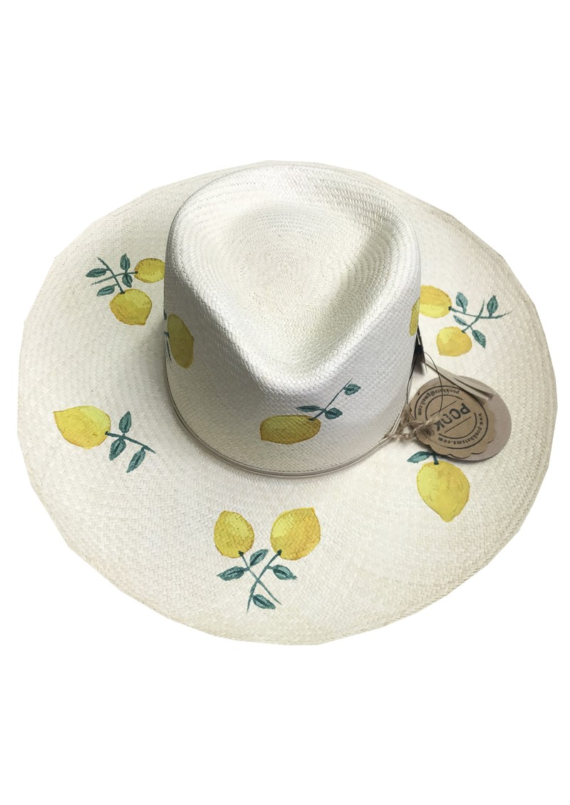 POOK HATS Classic Lemon Hat - Natural main image