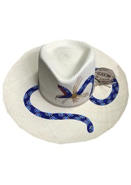 POOK HATS Alebrije Snake Hat - Natural
