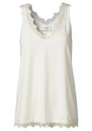 Rosemunde Simple Lace Top - Ivory