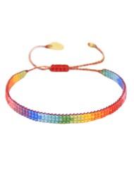 MISHKY Rainbow Track Beaded Bracelet - Multi