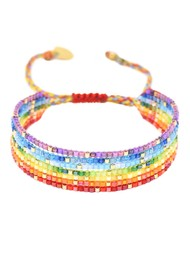MISHKY Rainbow River Beaded Bracelet - Multi