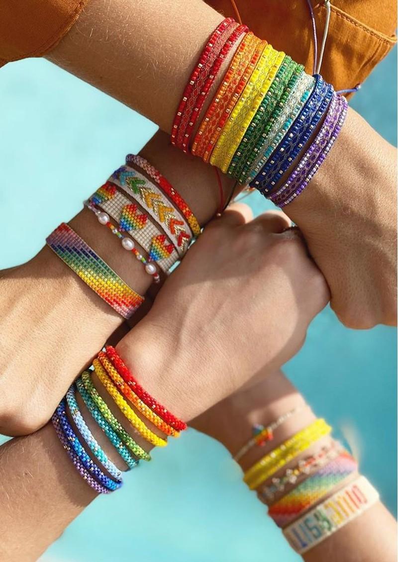 MISHKY Rainbow River Beaded Bracelet - Multi main image