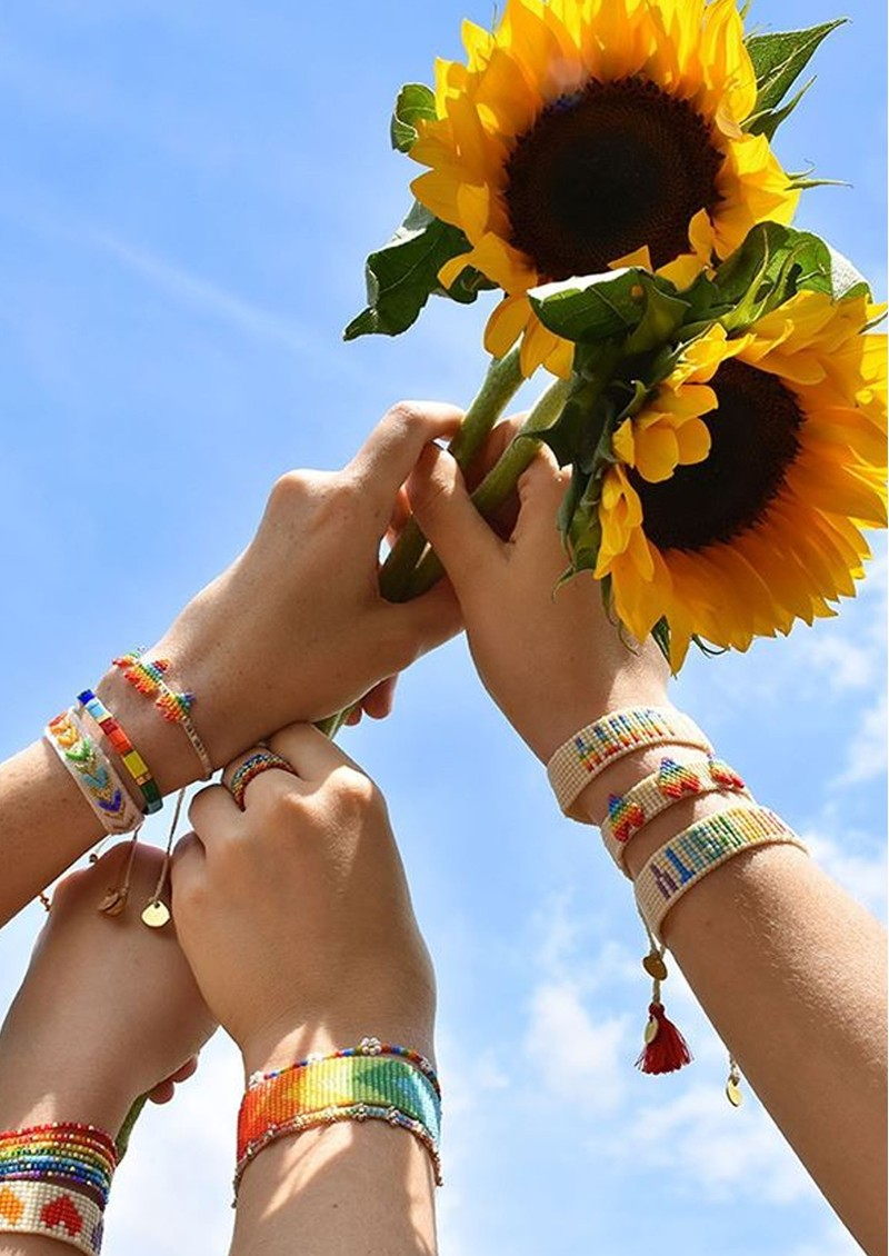 MISHKY Rainbow Yeyi Beaded Bracelet - Multi main image