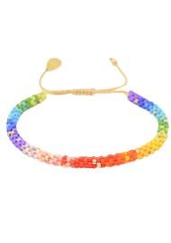 MISHKY Rainbow Hoopys Beaded Bracelet - Multi