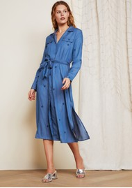 FABIENNE CHAPOT Thea Chambray Dress - Denim