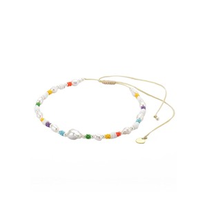Rainbow Mallorca Choker Necklace - Multi
