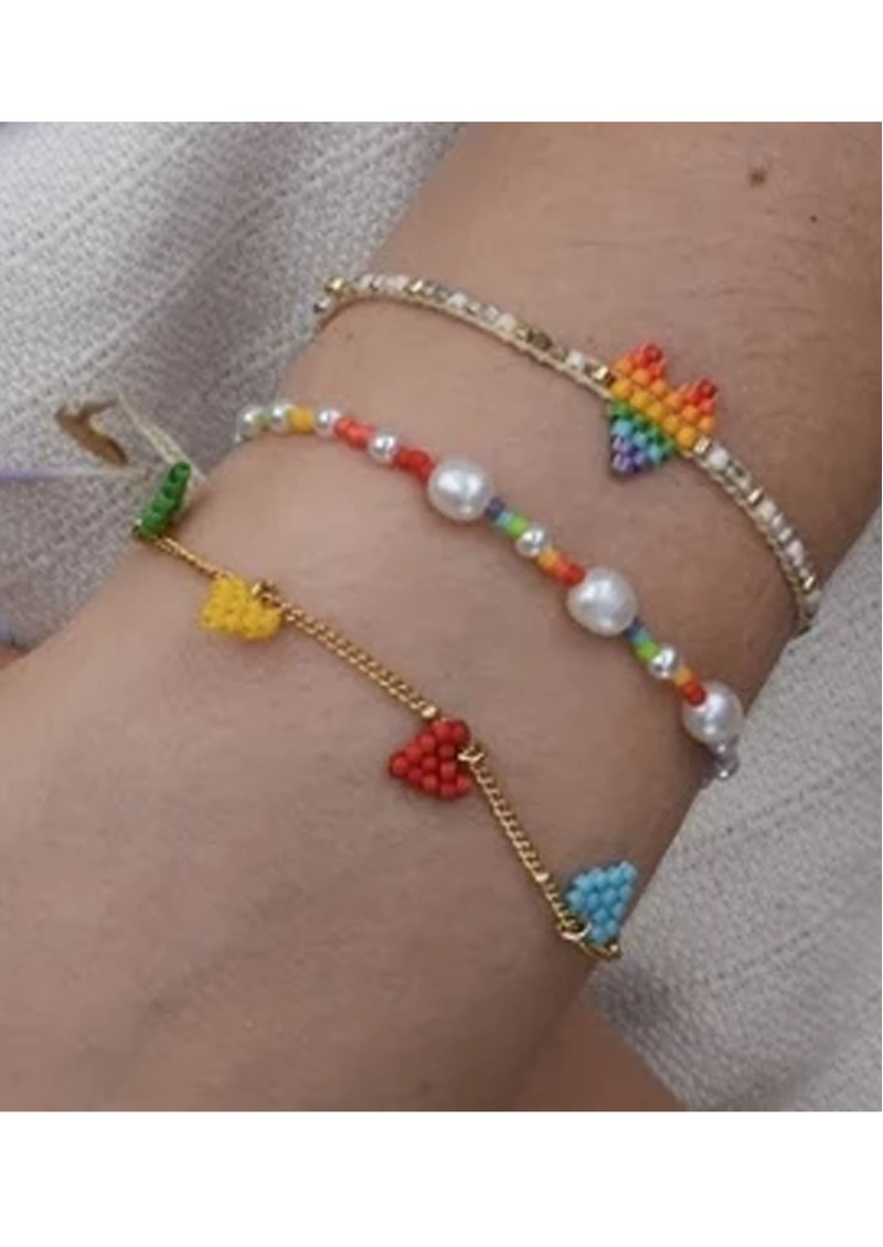 MISHKY Pearl Beaded Bracelet - Multi main image