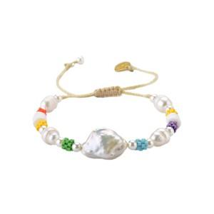 Mallorca Pearl Beaded Bracelet - Multi