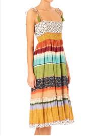 M.A.B.E Calla Printed Sun Dress - Multi