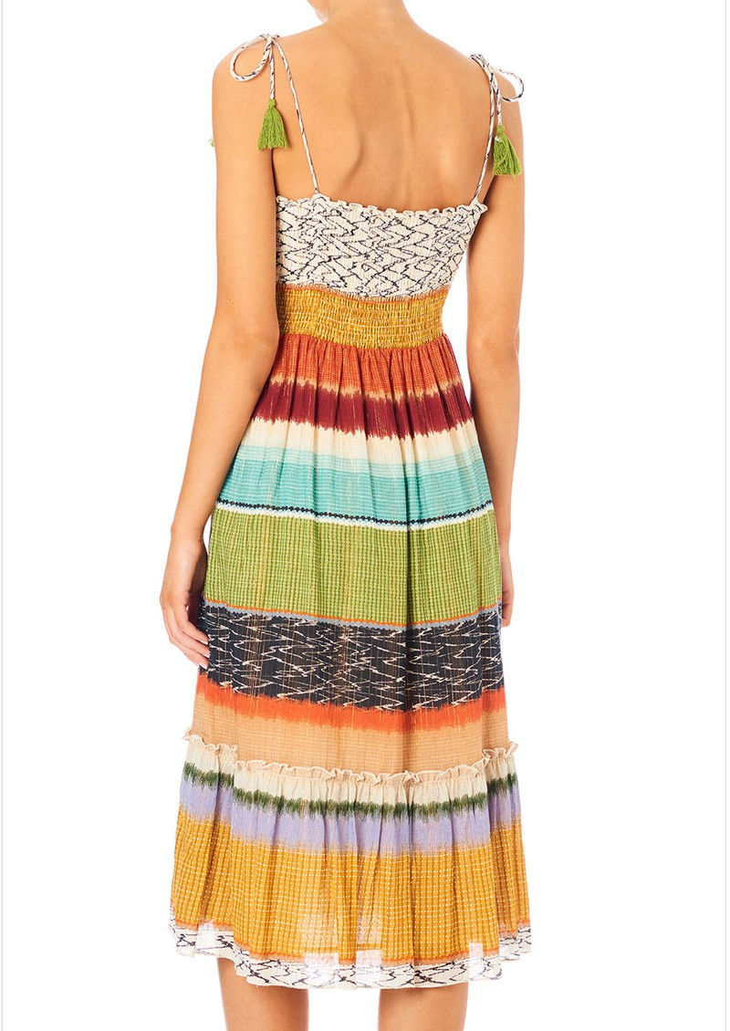 M.A.B.E Calla Printed Sun Dress - Multi main image