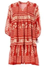 M.A.B.E Athena  Midi Dress - Red