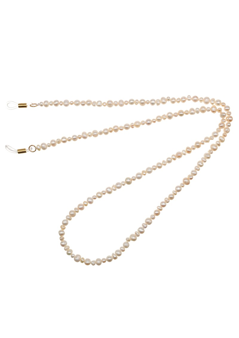 TALIS CHAINS Classic Freshwater Pearl Glasses Chain - Pearl main image