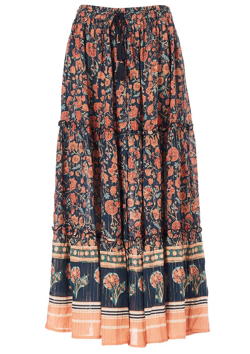 M.A.B.E Joy Maxi Skirt - Navy main image