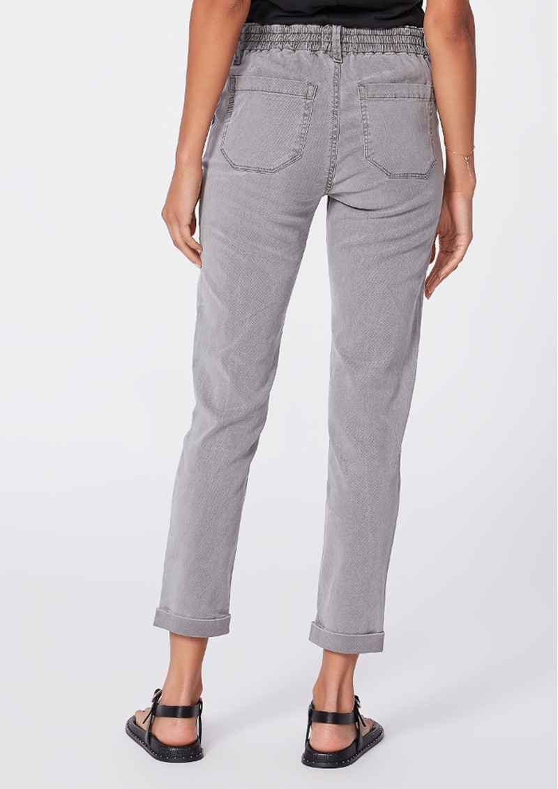 Paige Denim Christy Drawstring Pant - Vintage Grey Haze main image