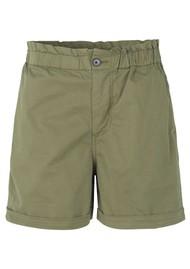 SAMSOE & SAMSOE Tournon Organic Cotton Shorts - Air Khaki