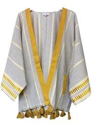 NOOKI Carrie Cotton Kimono - Yarn Dye