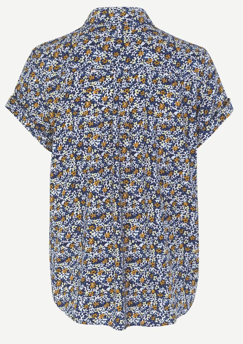 SAMSOE & SAMSOE Majan Short Sleeve Shirt - Verbena main image
