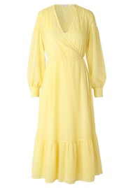 SAMSOE & SAMSOE Tulip Wrap Dress - Pineapple Slice