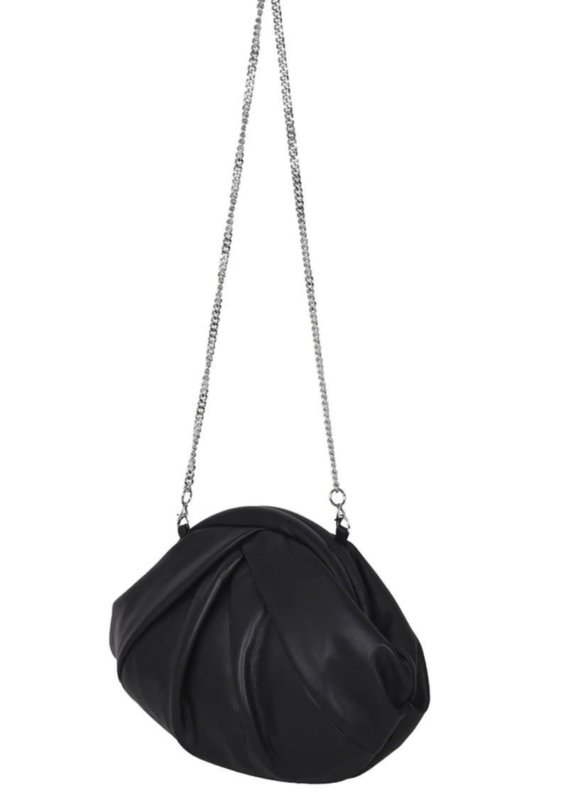 NUNOO Saki Silky Leather Bag - Black main image