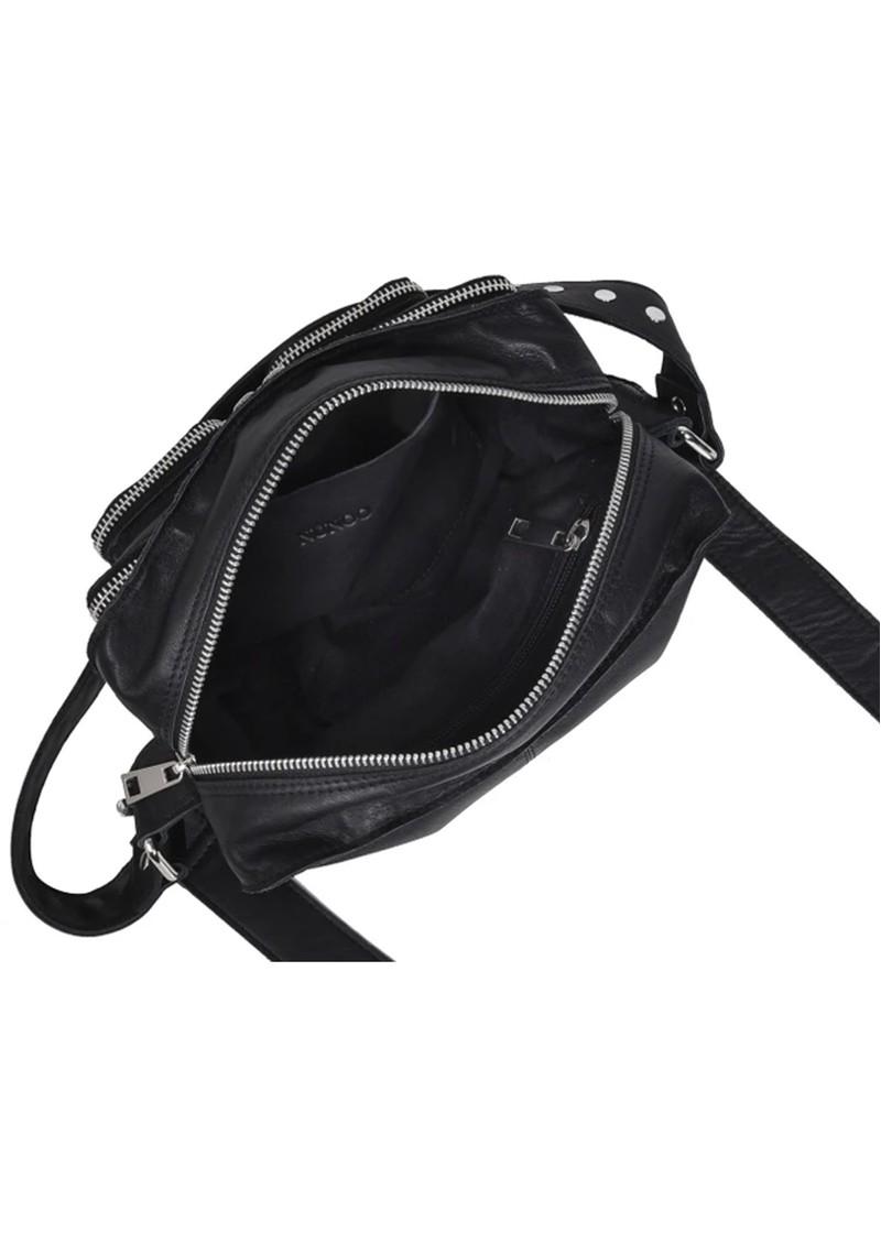 NUNOO Ellie Silky Leather Bag - Black main image
