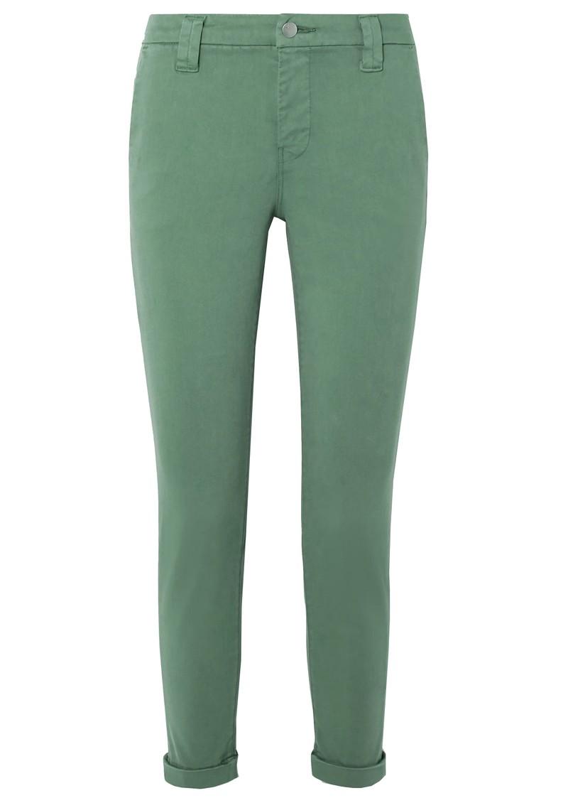 J Brand Paz Slim Tapered Luxe Sateen Trouser - Veiled main image