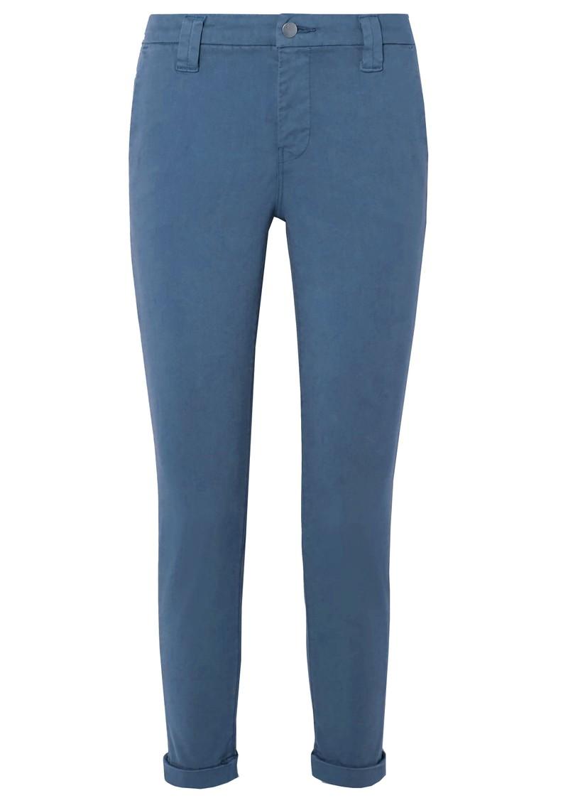 J Brand Paz Slim Tapered Luxe Sateen Trouser - Blue Rider main image